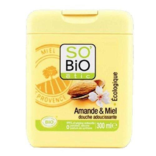 So bio étic douche adoucissante amande miel Bio 300ml - ( Prix Unitaire ) - Envoi Rapide Et Soignée