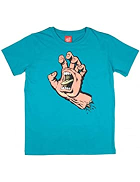 Santa Cruz Camiseta niño Screaming Hand Lake Azul
