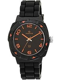 Maxima Aqua Sport Analog Black Dial Men's Watch - 27665PPGW