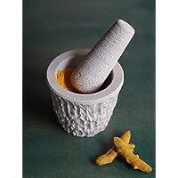 Store Indya, Naturale tradizionale Soapstone mortaio e pestello per la cucina Décor / Uso di accessori da cucina