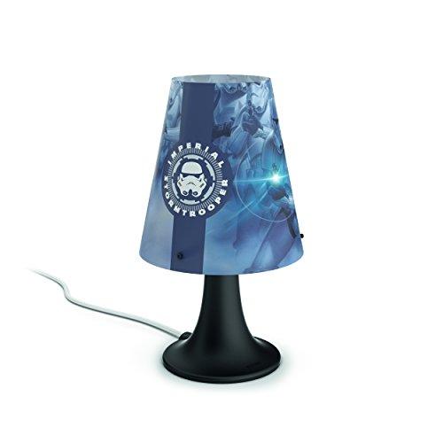 41K72vPiI9L - Philips Star Wars 717959926 lámpara de mesa Multicolor 2,3 W LED - Lámparas de mesa (Multicolor, Sintético, Habitación de los niños, Expresivo, IP20, III)