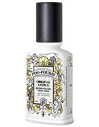 Poo-Pourri Before-You-Go Toilet Spray 4-Ounce Bottle, Original Scent + Free Pocket Size Spritzer