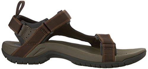 Teva - Tanza M's, sandali sportivi da uomo marrone scuro (Marrón)