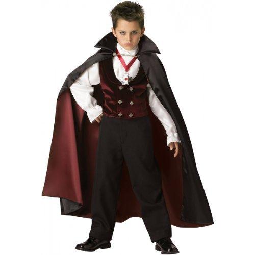 Incharacter Kostüme, LLC Kinder 2-7Samt Gothic Vampir Weste Set XL rot (Incharacter Kostüme Llc)