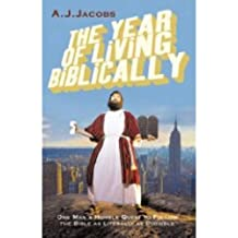 The Year of Living Biblically [Large Print]: 16 Point