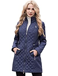 a599e06fbe073 MSVASSA Winter   Autumn Ladies Puffer Coat Padded Warm Jacket Long Solid  Color Zippers Pockets Outerwear Plus Size XS-6XL Outerwear…