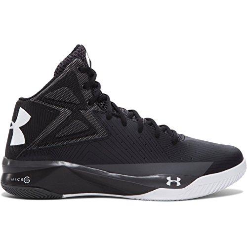 Under Armour Ua Rocket, Chaussures de Basketball homme Schwarz - Schwarz (Black)