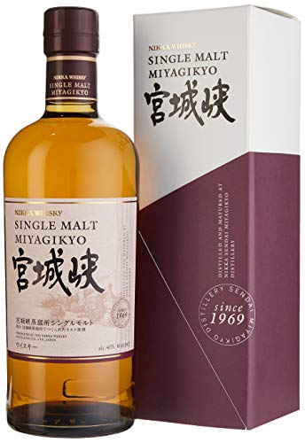 NIKKA Miyagikyo Single Malt Whisky (1 x 0.7 l)