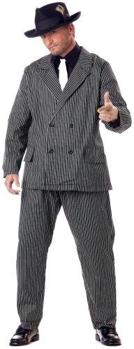 Unbekannt Aptafêtes-cs968927/XXL-Kostüm Gangster Mafia-Größe - Black Und White Gangster Kostüm