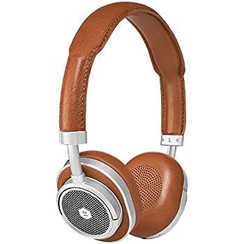 Master & Dynamic MW50 High Definition Bluetooth Wireless On-Ear Headphone - Brown/Silver
