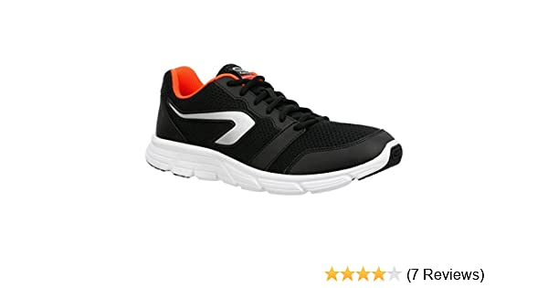release date 3c66c 02ad9 KALENJI EKIDEN ONE PLUS MEN S RUNNING SHOES - BLACK RED (EU 40)  Buy Online  at Low Prices in India - Amazon.in