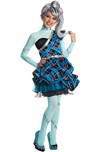 Rubie's Offizielles MATTEL Monster High Frankie Stein Sweet 1600, Kinder Kostüm – Kleine (Frankie Stein Monster High Kostüme)
