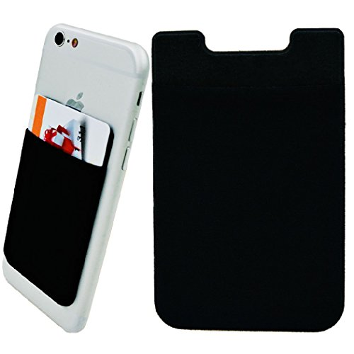 Chronex Premium Lycra Cell Phone Wallet for Credit Card / ID Card (2 Units Combo Pack)