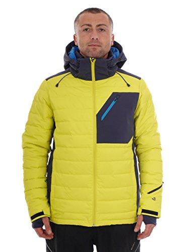Brunotti Skijacke Winterjacke Snowboardjacke gelb Trysail Thinsulate (L)