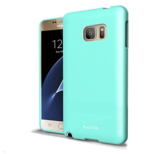 cassa-della-galassia-s7-cellto-slim-tpu-mint-033-millimetri-precision-fit-morbida-flex-anti-slip-cov