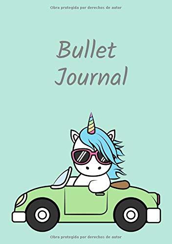 Bullet Journal: Cuaderno Punteado A5 - para Tomar Notas, Lettering, Caligrafía, Bocetos (Serie de Diseño Kawaii, Band 580) (Series 580)