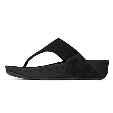 FITFLOP LuluTM Canvas Black FITFLOPS (4)