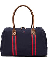 Tommy hilfiger sac tote sac à main femme new navy zip bag