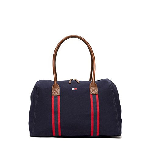 Tommy Hilfiger Damen Tasche Shopper Handtasche Zip Tote Bag navy new (Tote Bag New-handtaschen)