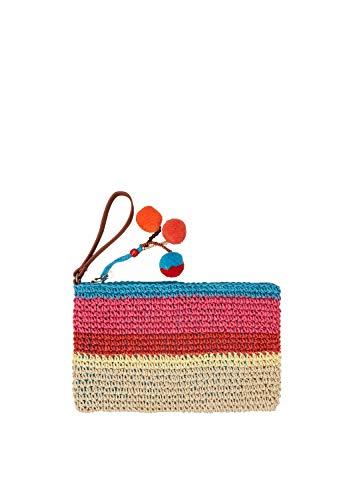 s.Oliver (Bags Damen 39.904.90.5170 Geldbörse, Braun (Brown Stripes), 1x20x32 cm