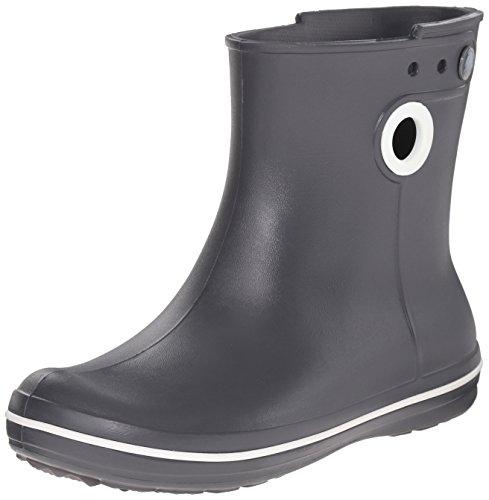 Crocs Jaunt Shorty Boot W, Stivali, Donna Grigio (Graphite)