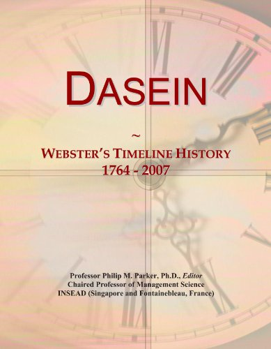 dasein-websters-timeline-history-1764-2007