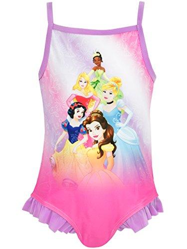 Principesse disney - costume da bagno ragazza - disney princess - 5 - 6 anni