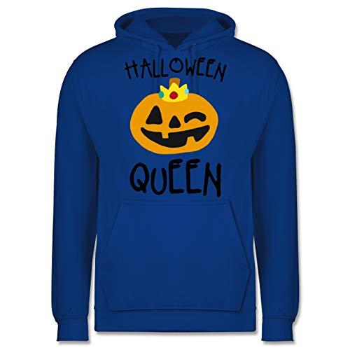 Shirtracer Halloween - Halloween Queen Kostüm - L - Royalblau - JH001 - Herren Hoodie