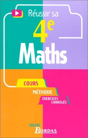 429 - MATHS 4E NE (Ancienne Edition) par Such