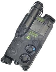 Tactical Airsoft un/PEQ16caja de la batería Negro maniquí AEG con RIS para pantalla plana