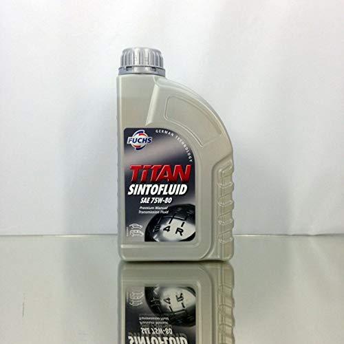 Fuchs olio del cambio schaltgetriebeöl Titan W-80SAE 75W -80, 1litro