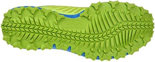 Dynafit Trailbreaker, Chaussures de Trail Homme Vert (Atomic Blue/cactus)