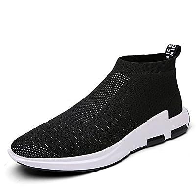IceUnicorn Herren Sneaker Slip On Sportschuhe Turnschuhe Outdoor Leichtgewichts Laufschuhe Freizeit Atmungsaktive Schuhe