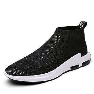 IceUnicorn Herren Damen Sneaker Slip on Sportschuhe Turnschuhe Outdoor Leichtgewichts Laufschuhe Freizeit Atmungsaktive Schuhe