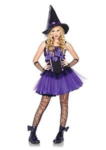 Leg Avenue - Disfraz de bruja para niño, talla 14-16 años (J4807206039)