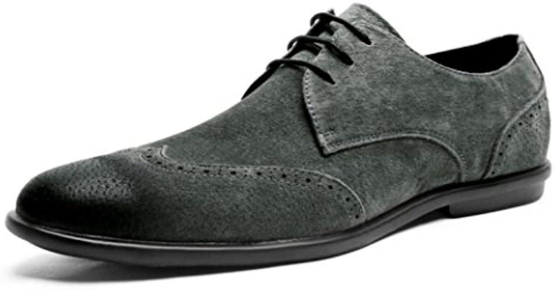 Zapatos De Cuero para Hombres Zapatos Ocasionales Transpirables