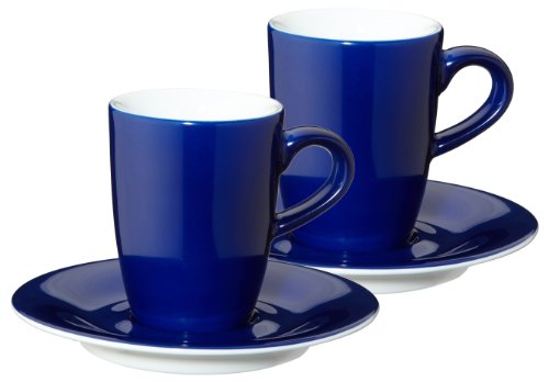 KAHLA 57A298A70307C Espressotassen-Set 4-teilig Pronto, Nachtblau
