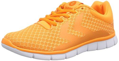 Hummel Effectus Breather, Baskets Basses mixte adulte Orange (Orange Pop 3651)