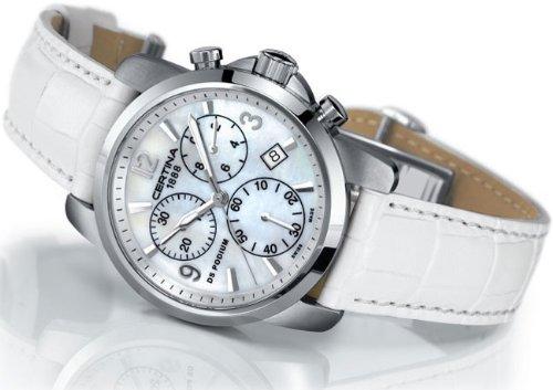 Certina Damen-Armbanduhr XS Certina DS Podium Lady Chronograph Leder C001.217.16.117.00