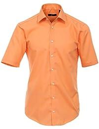 Venti Herren Businesshemd 001620 Baumwolle auch große Größen Kurzarm Slim FIt