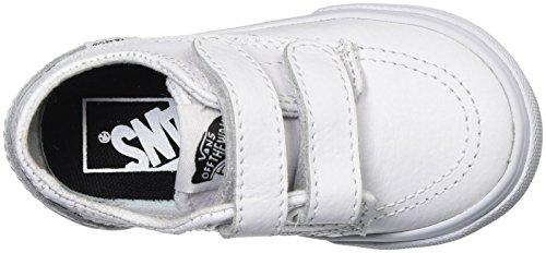 Vans Brigata V Infant White Leather Trainers (leather) white/true white
