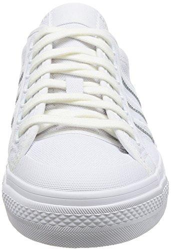 adidas Nizza, Sneakers Basses Homme Blanc (Footwear White/footwear White 0)