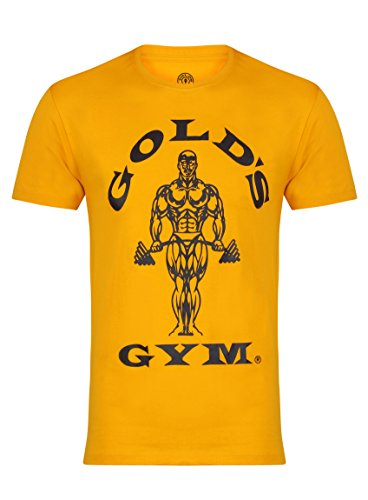 Gameworld Muscle Joe T-Shirt Homme Or FR : XL (Taille Fabricant : XL)