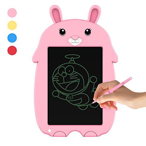 doosl LCD Writing Tablet 8,5 Zoll LCD Schreibtafel Digital Schreibtafel Tablet mit Stift, Digitale Zeichenbrett mit Anti-Clearance Zeichenbrett Handschriftpapier Digital Ewriter für Kinder (Rosa)