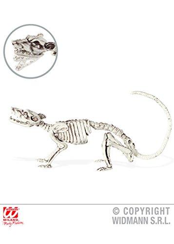 Halloween Prop Ratte Skelett ()