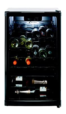 Candy Bottle Fridge, Black from Hoover Candy