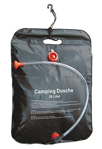 Solardusche Campingdusche Gartendusche 20 Liter Solar-Dusche Dusch-Beutel Outdoor