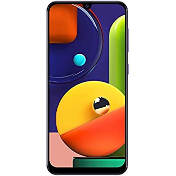 Samsung Galaxy A50s (Prism Crush Violet, 4GB RAM, 128GB Storage) with No Cost EMI/Additional Exchange Offers