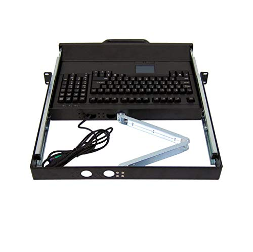 Norco PIK-230B 1U Rackmount Touch-Pad Keyboard PS2 Port Drawer