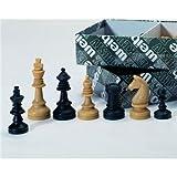 Weiblespiele 01012 - Schachfiguren, Kunststoff, 72 mm